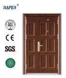 Porta de aço de seis painéis (RA-S155)