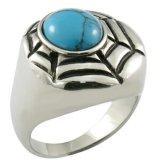 Gemme Ceramica Bianca CZ anelli di pietra
