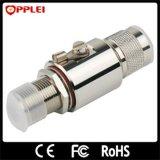 Arrester антенны разъема Coaixal f протектора молнии антенного фидера