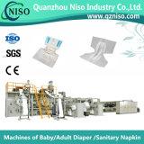 中国(CNK250-HSV)のSGSが付いている有効な大人のおむつのパッド機械
