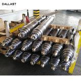Soldado de 6 pulgadas de diámetro del cilindro hidráulico telescópico de remolque basculante