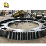 Triturador de aço de carbono de fundição de peças da fábrica de Peças da engrenagem grande