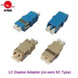 LC duplex Geen Optische Adapter van de Vezel van het Type van Sc van Oren