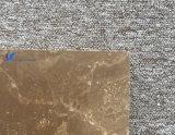 Mattonelle di marmo scure romane naturali personalizzate del Brown