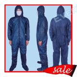 産業保護に使用する通気性のSMSの使い捨て可能なつなぎ服