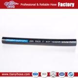 Malla de alambre de acero de alta rentabilidad hidráulico flexible reforzado de la manguera de goma