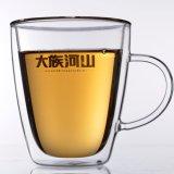 Эспрессо стеклянные кофейные чашки кружки с ручкой для приготовления чая