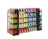Prateleiras dos supermercados e lojas de conveniência Exibir prateleiras das prateleiras em Face dupla de farmácia Papelaria Store no Visor de venda a quente