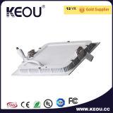 Cer RoHS genehmigte Saqure vertiefte LED-Instrumententafel-Leuchte