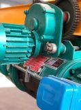 Gru elettrica della fune metallica con il certificato del Ce che viaggia sulla gru della gru