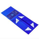 Rectángulo de regalo plegable durable impreso a todo color respetuoso del medio ambiente de la cartulina
