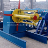 10トンのフルオートマチックの鋼鉄コイル油圧Decoiler Uncoiler