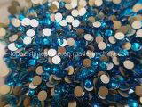 diamante de cristal do Rhinestone superior não Hotfix da cópia 5A de Preciosa para a decoração (FB-ss20 pavão blue/5A)