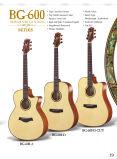 Высокое качество с гитарой самого лучшего цены твердой верхней акустической