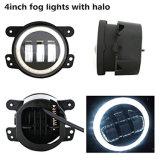 """Luz de nevoeiro Auto LED de 4 """"30W com DRL para Jeep Wrangler Truck"""