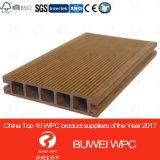 Высокое качество WPC декорированных ПВХ Co-Extrusion открытую террасу для использования вне помещений