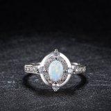 형식 보석 상단 판매 최신유행 디자인 지르콘 단백석 보석 반지