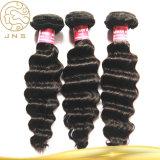 100%の実質の加工されていないブラジルの毛の拡張100%人間の毛髪