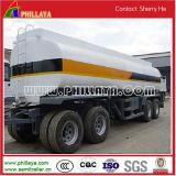 15-30cbm 2-3axleの完全な引っ張り棒水石油燃料タンクトレーラー