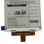 Zeichen LCD-Baugruppe mit grüner LED-Hintergrundbeleuchtung
