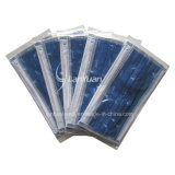 Towers Pattern를 가진 일체 성형 Package 어둡 파란 Nonwoven Face Mask