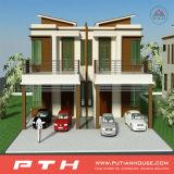Además el diseño y estructura de acero prefabricados durables Beach Villa Chalet