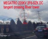 Torretta del fiume dell'incrocio di tangente di CC di Megatro 220kv 2f6-Szk
