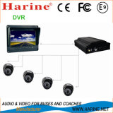 Bus / Car / Coach Sécurité / Surveillance CCTV Camera Monitor DVR