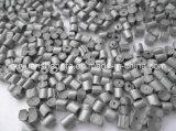 Reciclado de alta calidad de HDPE de color gris