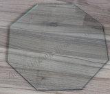 Verre trempé clair en forme de 10 mm Verre trempé