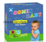 Tecido descartável do bebê da boa qualidade do tipo da câmera