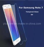 вспомогательное оборудование телефона оптовой продажи фабрики стеклянной пленки 9h 2016 передвижного протектора экрана 2.5D Tempered новое на примечание 7 галактики Samsung