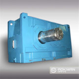 Reductor de engranajes industriales helicoidales de ángulo recto de la serie B