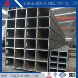 Feux de l'acier galvanisé à chaud de tuyaux en acier de corps creux rectangulaire