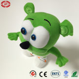 Music Sounds Gummybear Green Funny Plush Stuffed Toy