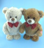 Brinquedo de brinquedo Toy de pelúcia Teddy Bear com arco