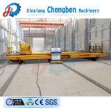 30ton potência de barramentos de transferência de rampa de oficina Preço Carrinho plana eléctrico