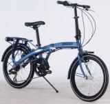 Liga de alumínio de 20 polegadas Shimano Velocidade 7 bicicleta dobrável aluguer