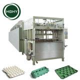 Hghy pequeña bandeja de huevos de papel automática máquina de moldeo de pulpa