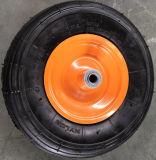 Stahlfelgen-Handlaufkatze-pneumatisches Rad 4.00-6