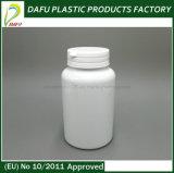 weiße Medizin-Plastikflasche des Haustier-250ml