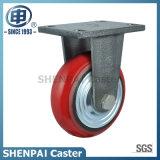 Roulette industrielle résistante de pivot d'unité centrale de noyau de fer (arc)