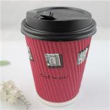 Chaep personalizados copos de café de papel descartável