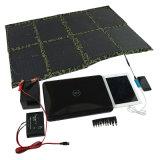 5W-150W cargador solar plegable, batería de la energía solar, los paneles solares portables del USB para el iPhone, iPad, cámara, cuaderno, USB
