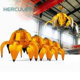 ヘラクレスクレーン機械グラブのバケツ