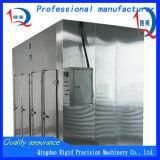 Tipo de caixa de aço inoxidável máquina de secagem de alimentos industriais garrafa a máquina