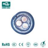 IEC Norma BS 0.6/1kv Cu/XLPE/PVC/Swa/PVC cabos de alimentação