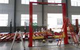 Tipo do Gg 3.5-5 toneladas elevador do carro do veículo do borne dobro hidráulico do assoalho dois do espaço livre do cilindro de auto