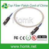 Cordon de raccordement à fibre optique Mu Câble blanc