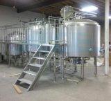 Acier inoxydable cuve de fermentation de mélange de jupe de trois couches grande (ACE-FJG-HK)